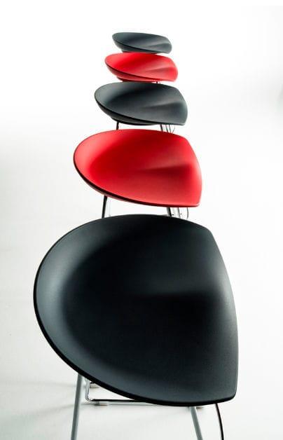 Bar stool / contemporary / polyurethane / for hotels